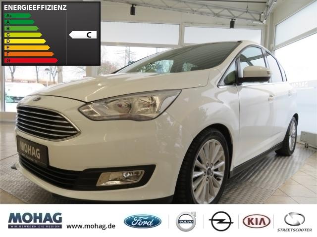 Ford C-Max Titanium 1,5l *Ganzjahresreifen-Tempomat* -Euro 6-, Jahr 2016, Benzin