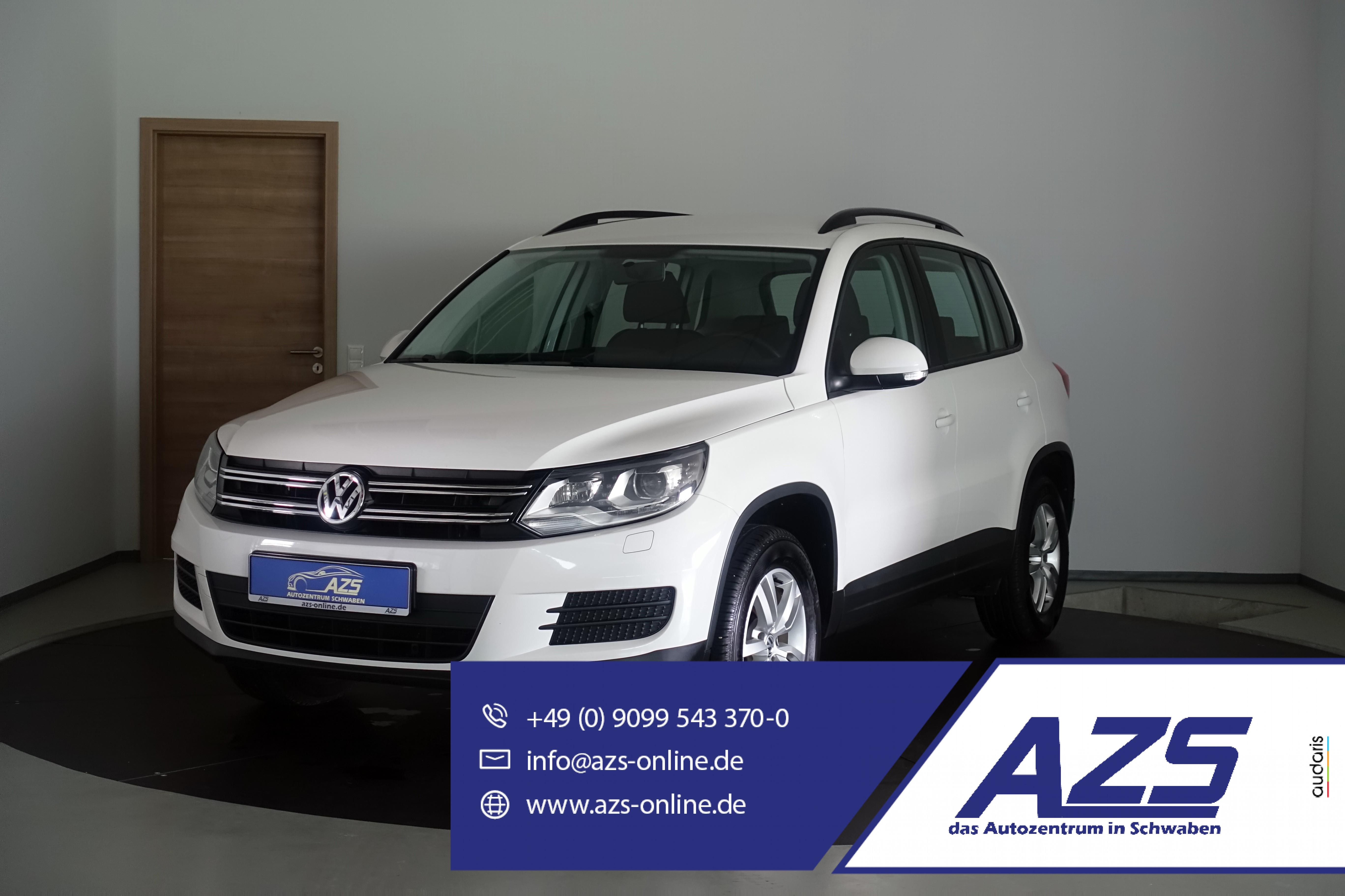 Volkswagen Tiguan 1.4   Bi-Xenon   AHK   PDC   Sitzheizung, Jahr 2013, Benzin