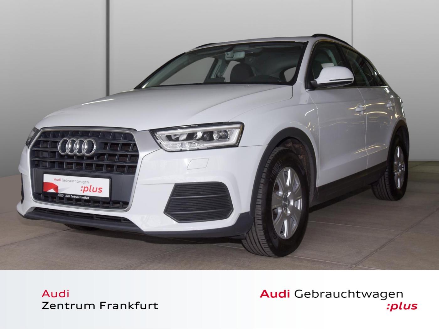 Audi Q3 2.0 TDI ultra LED Navi Tempomat PDC Sitzheizu, Jahr 2015, Diesel