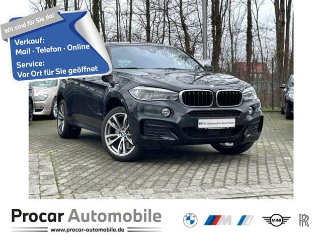 BMW X6 xDrive30d M Sport DA+ LED H/K PDC Navi, Jahr 2017, Diesel