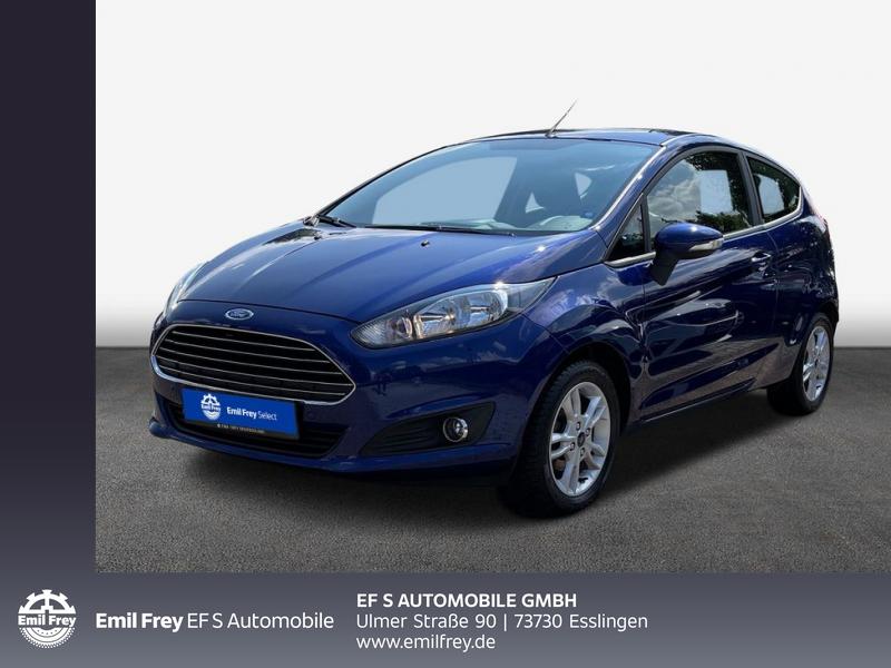 Ford Fiesta 1.25 SYNC Edition*PPS/Winter/Allwetter*, Jahr 2015, Benzin