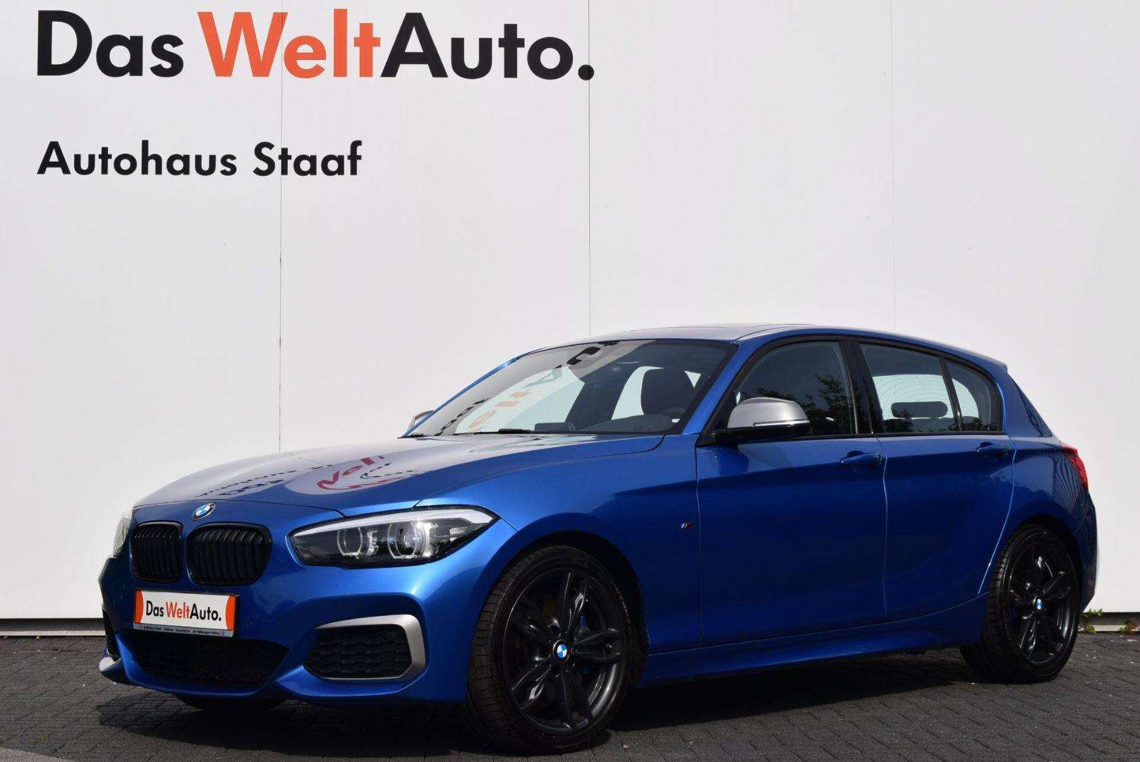 BMW M140i NAV+LED+HARMAN-KARDON+SCHIEBEDACH, Jahr 2017, Benzin