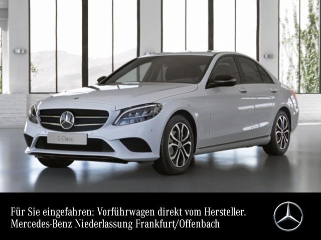 Mercedes-Benz C 200 AVANTG+Night+LED+Spur+Totw+Keyless+9G, Jahr 2021, Benzin