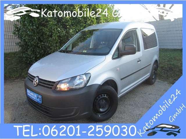 Volkswagen Caddy Kasten EcoFuel CNG ErdGas Klima Bluetooth 1. Hand, Jahr 2013, Gas