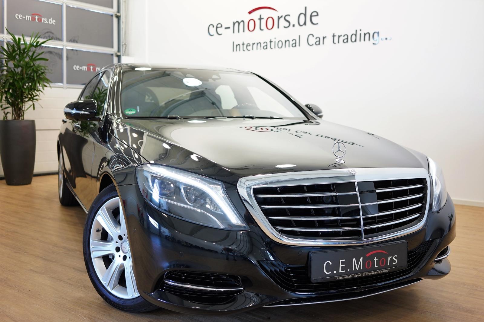 Mercedes-Benz S 500 Lang 4M Ind.Ent*Pano*Fahrass*Burmester*LED, Jahr 2014, Benzin