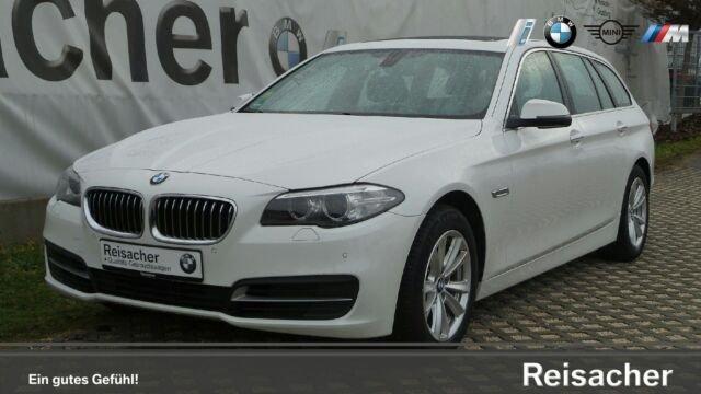 "BMW 528i Touring AHK,PDC,KlimaA,SH,Panorama,17""LM, Jahr 2015, petrol"