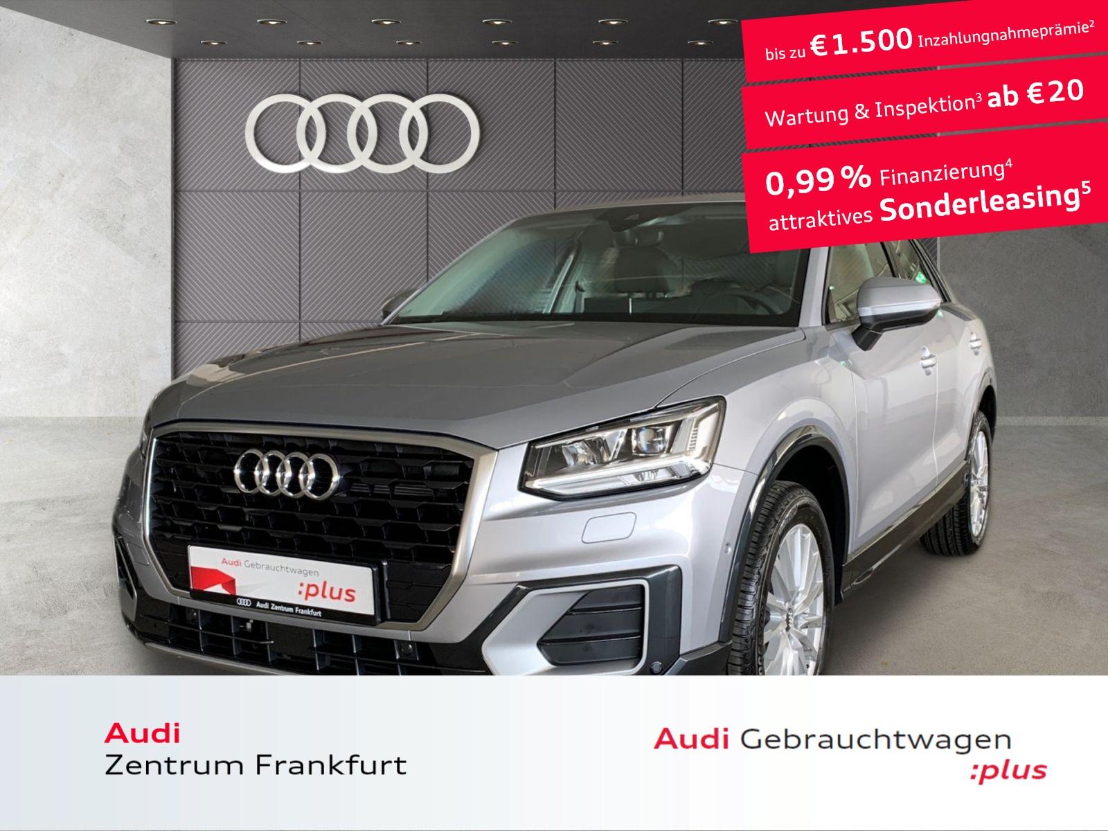 Audi Q2 30 TFSI design LED Navi DAB PDC Bluetooth, Jahr 2020, Benzin