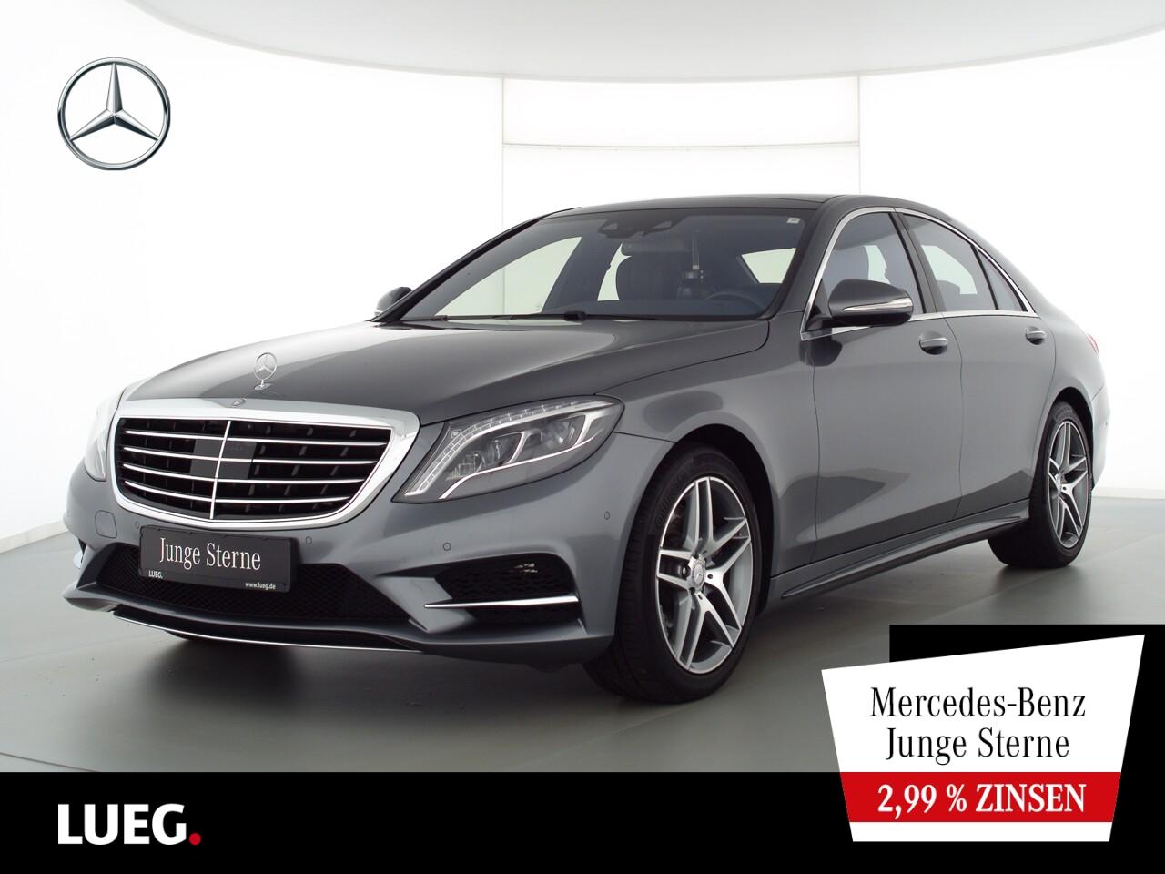 Mercedes-Benz S 400 4M AMG+COM+Pano+Burm+LED+Sitzklm+Sthzg+RFK, Jahr 2017, Benzin