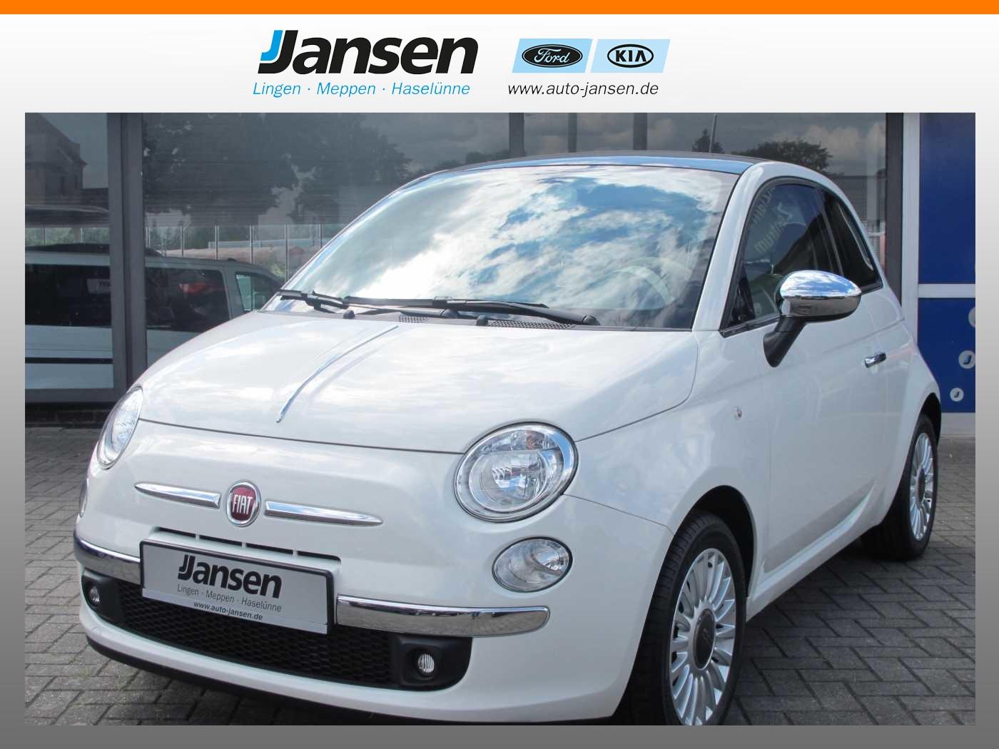 Fiat 500 1.2 Lounge *Klima*Glasdach*Bluetooth*, Jahr 2013, Benzin