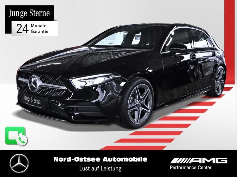 Mercedes-Benz A 200 AMG Navi LED SHZ MBUX Parktronic Tempo, Jahr 2019, Benzin