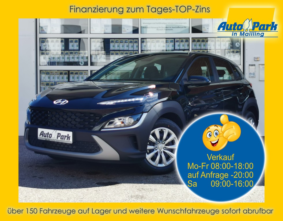 Hyundai Kona 1.0 T-GDI NAVI~RFK~GRA~MFL~DAB~BT~ALU, Jahr 2021, Benzin