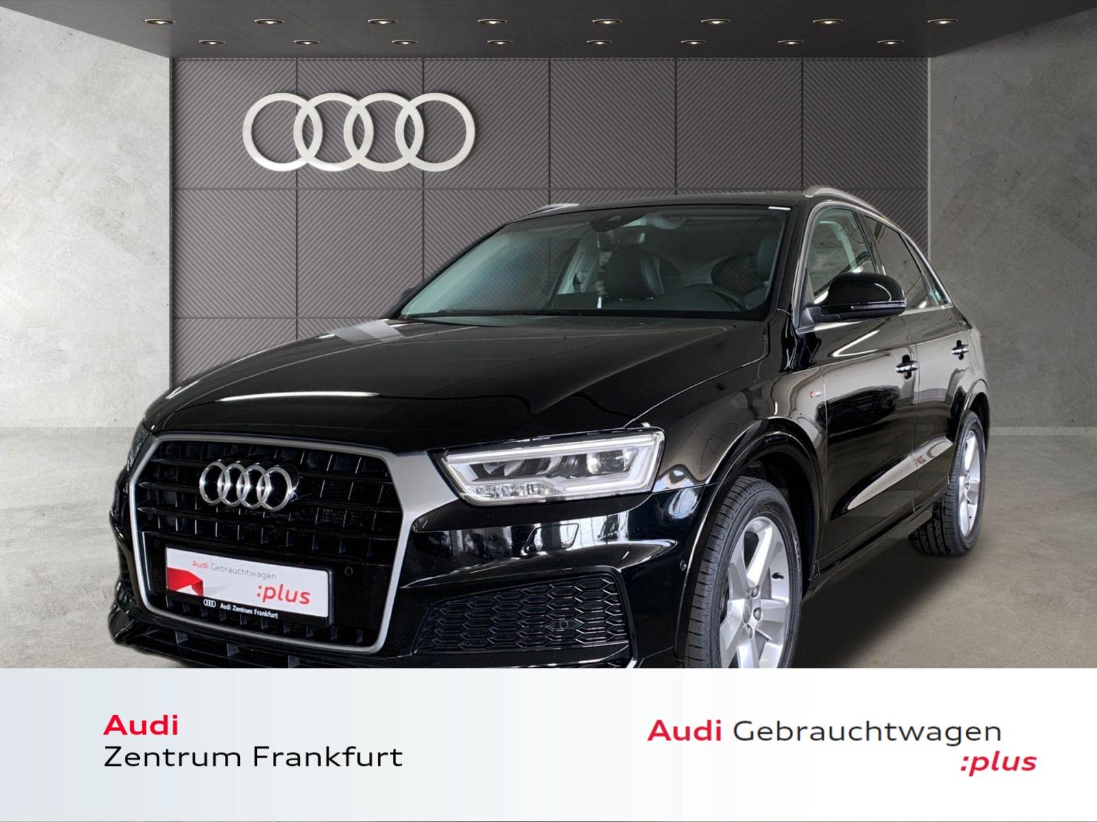 Audi Q3 2.0 TDI S line LED Navi Panorama Tempomat DAB, Jahr 2017, Diesel