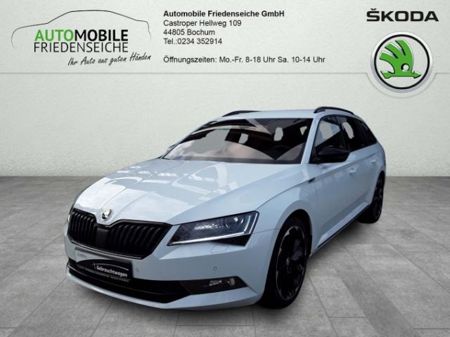 Skoda Superb Combi 2.0 TDI Sportline Keyless ACC Rückfahrkam. El. Heckklappe PDCv+h LED-hinten, Jahr 2018, Diesel