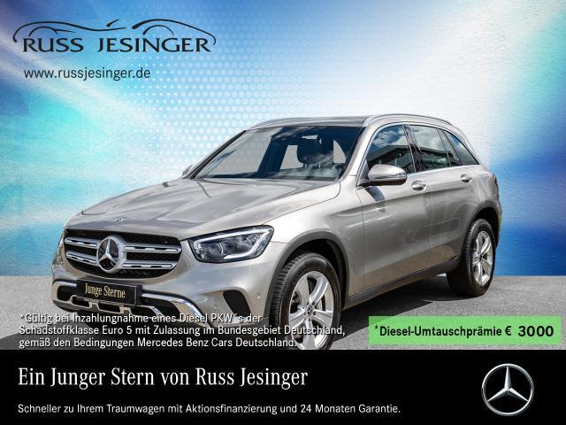 Mercedes-Benz GLC 400 d 4MATIC STANDHEIZUNG+PANO+AHK+MULTIBEAM, Jahr 2020, Diesel