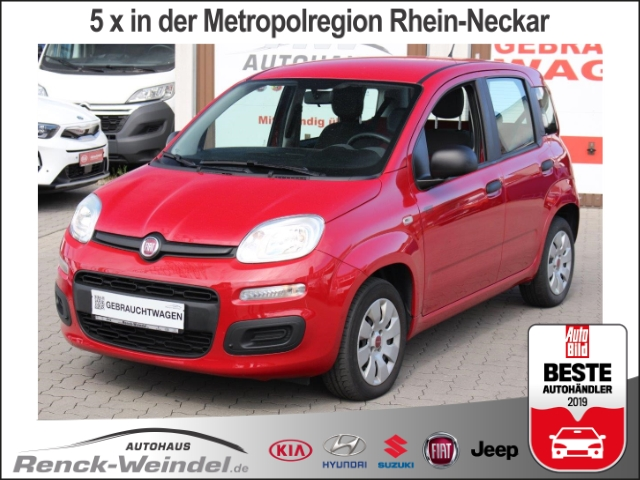 Fiat Panda Pop Klima CD AUX USB MP3 ESP BC Scheckheft Gar. Radio, Jahr 2015, petrol