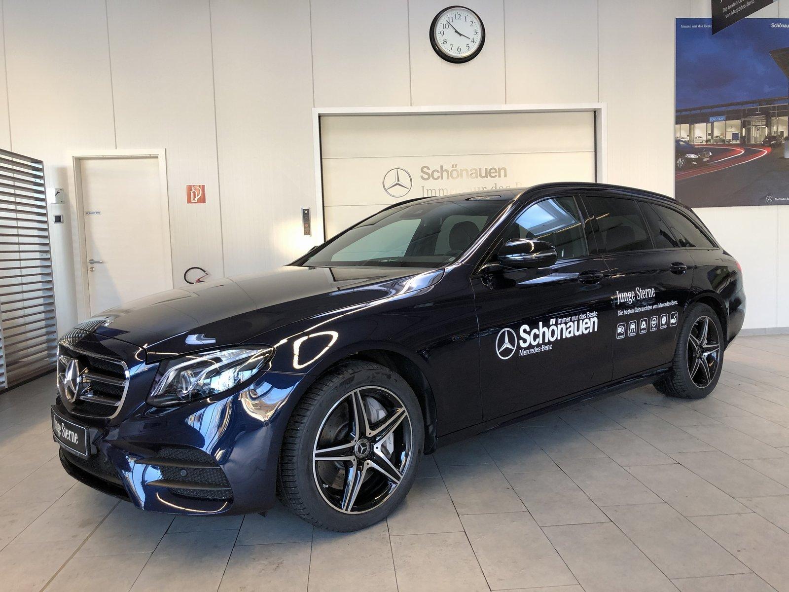 Mercedes-Benz E 300de T AMG+COMAND+MULTIBEAM+AHK+NIGHT+KAMERA, Jahr 2020, Hybrid_Diesel