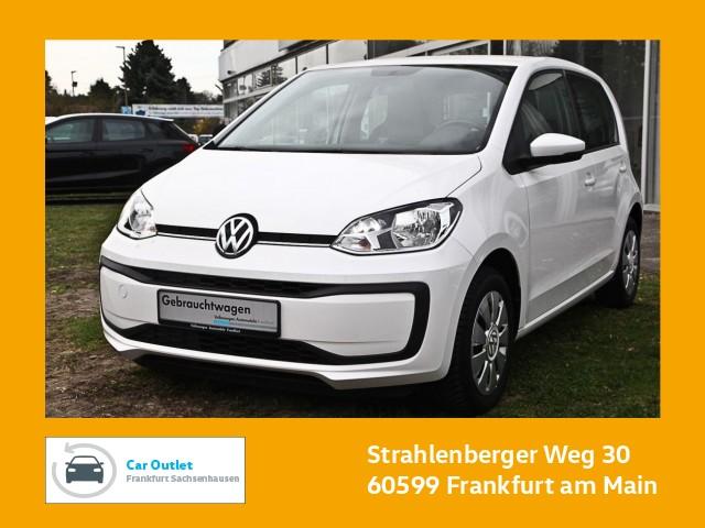 Volkswagen up! move up 1.0 Klima Tagfahrlicht elektr. Fensterheber up! 1,0 BMT move 44 M5F, Jahr 2017, Benzin