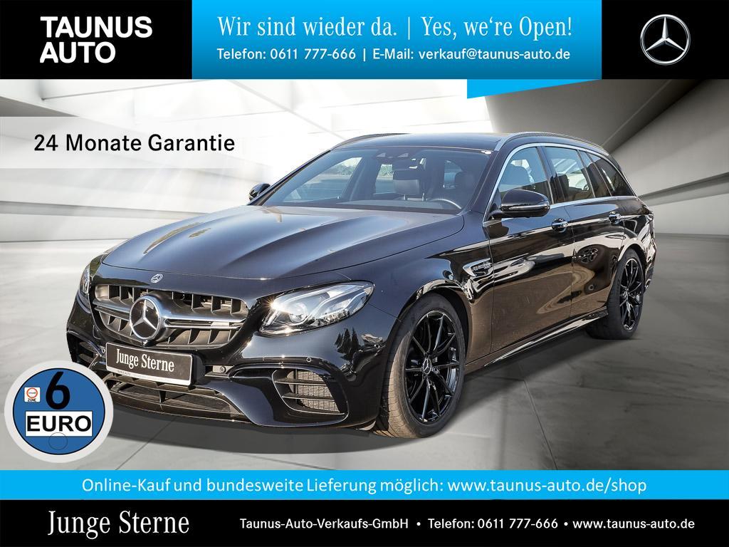 Mercedes-Benz E 63 AMG 4M T COMAND PANO WIDE ABGAS KEYLESS, Jahr 2018, Benzin