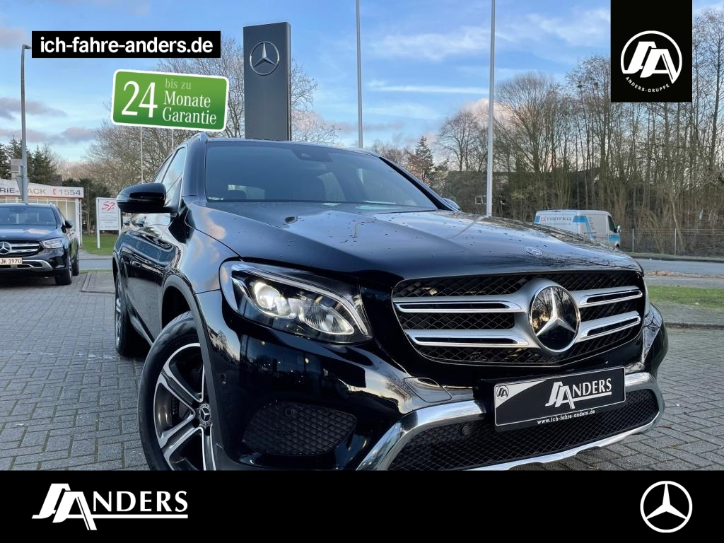 Mercedes-Benz GLC 250 d 4M Exclusive+Distr+Pano+LED+AHK+ABC, Jahr 2017, Diesel