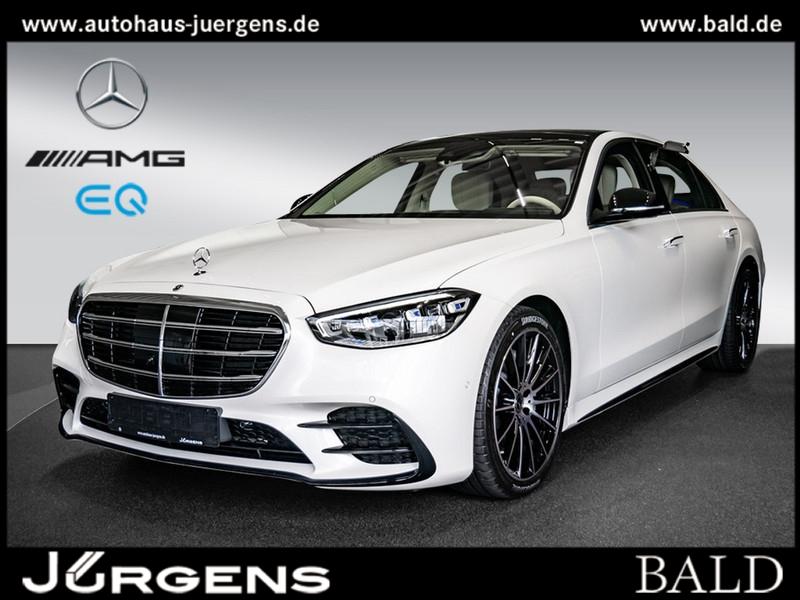 Mercedes-Benz S 500 4MATIC Limousine lang AMG+Sitzklima, Jahr 2021, Benzin