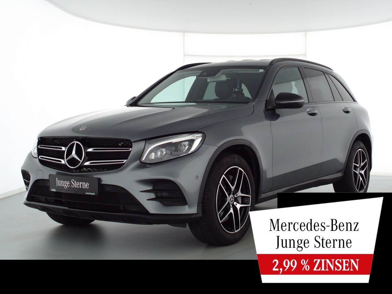 Mercedes-Benz GLC 300 4M AMG+Navi+LED+Sthzg+19''+Night+CarP+RF, Jahr 2018, Benzin