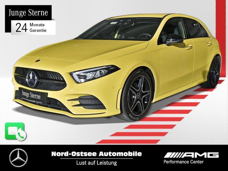 Mercedes-Benz A 200 AMG Night MBUX Navi Kamera Sitzheizung LED, Jahr 2019, Benzin