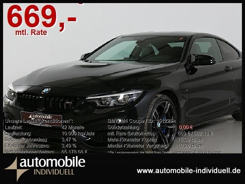 BMW M4 Coupe Competition LED Navi HuD V-Max, Jahr 2020, Benzin