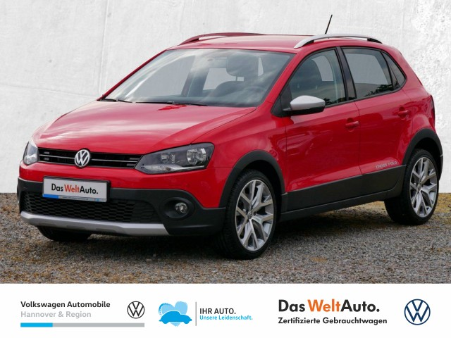 Volkswagen Polo Cross 1.2 TSI CrossPolo AHK Klima PDC Sitzheiz, Jahr 2017, Benzin