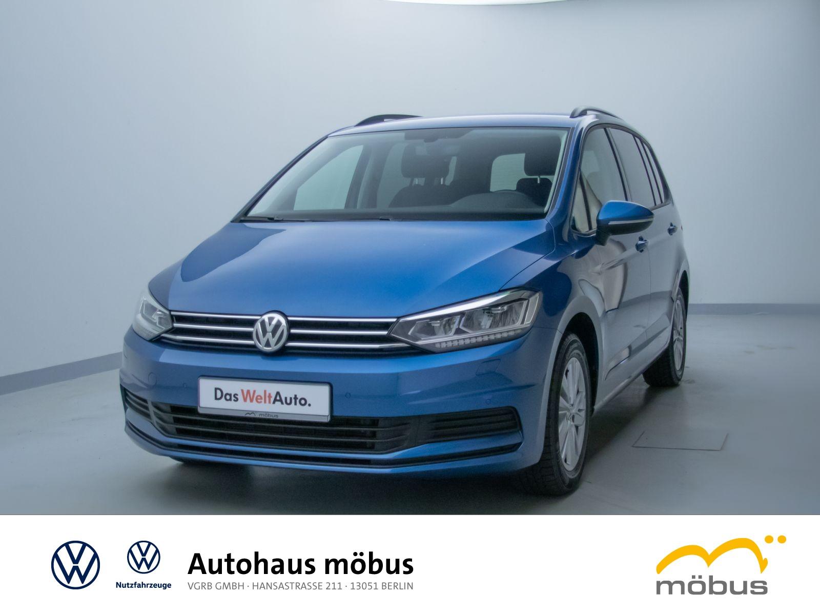 Volkswagen Touran 1.5 TSI DSG*COMFORTL*LED*ACC*7SITZER*RFK*, Jahr 2020, Benzin