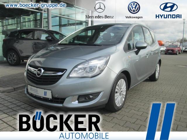 Opel Meriva 1.4 Edition AHK abnehm GRA Einparkh Klima, Jahr 2014, Benzin