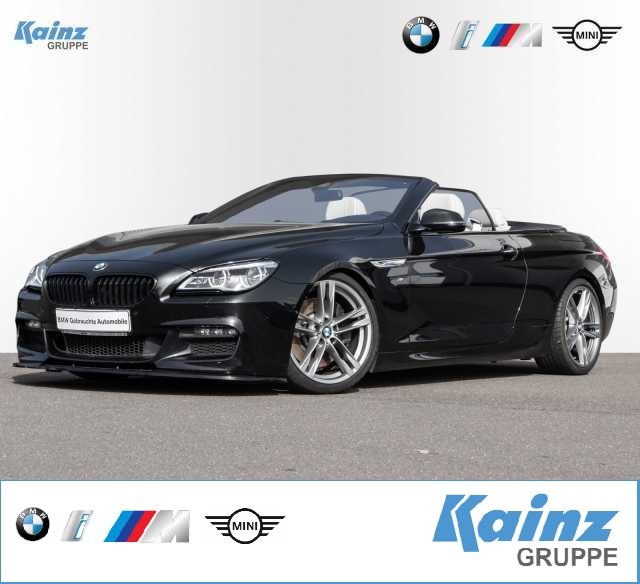 BMW 640d xDrive Cabrio M Sportpaket/HUD/Komfortsitze/Harman Kardon/Adapt. LED/Surround View/Soft-Close, Jahr 2017, Diesel