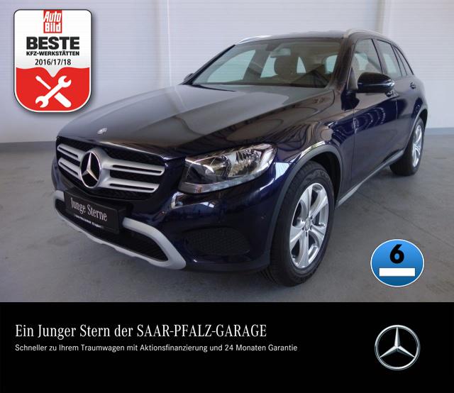 Mercedes-Benz GLC 220 d 4M NAVI*PTS*TEMPOMAT*SITZHZG*KLIMAAUTO, Jahr 2016, diesel
