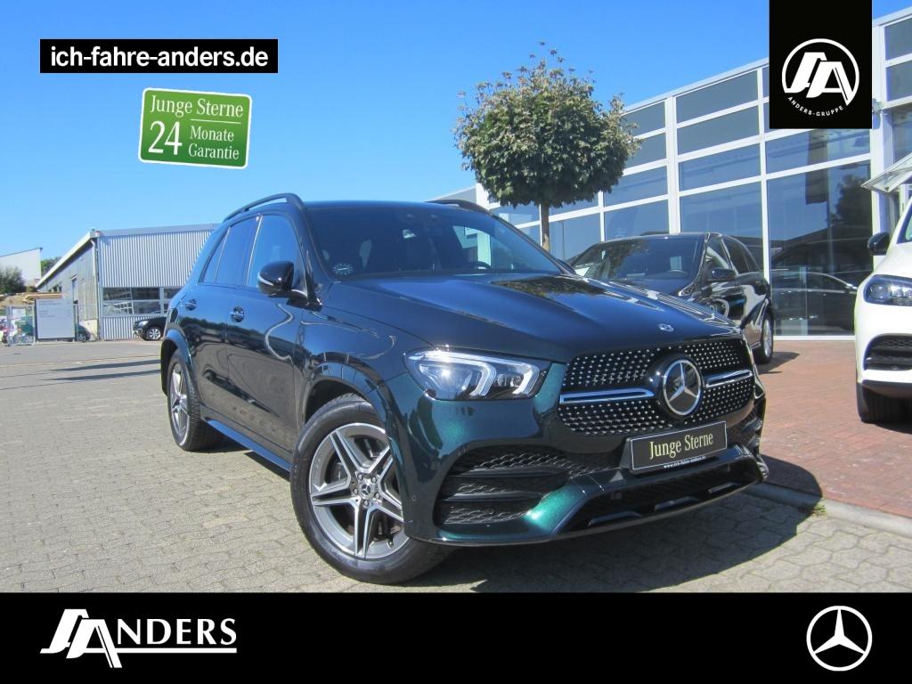 Mercedes-Benz GLE 450 4M AMG+MBUX+Burm+Distr+AIR+AHK+Pano+Keyl, Jahr 2020, Benzin