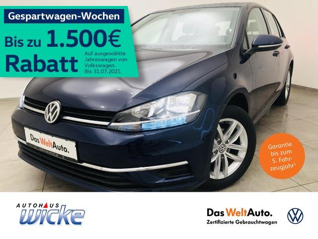 Volkswagen Golf VII 1.0 TSI Comfortline Navi Klima Bluetooth, Jahr 2019, Benzin