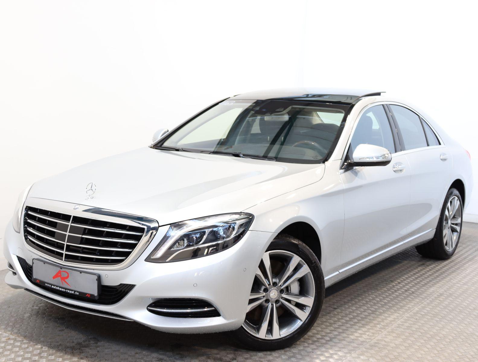 Mercedes-Benz S 500 4M PANORAMA,MEMORY,DISTRO,KAMERA,KEYLESS, Jahr 2014, Benzin