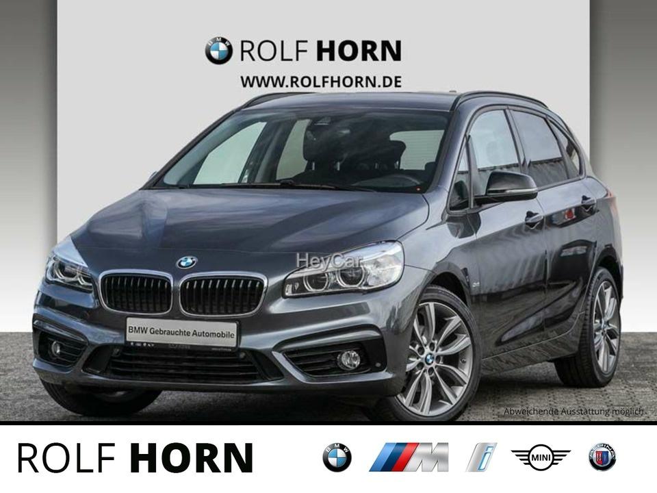 BMW 216 Active Tourer Sport Line Aut. Klima EURO 6, Jahr 2017, Diesel