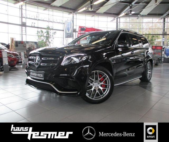 Mercedes-Benz GLS 63 AMG 4M Vmax, B&O, Sitzklima, Pano-D., AHK, Jahr 2018, Benzin
