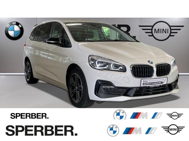 BMW 220 Gran Tourer d xDrive,SportLine,DAB,HUD,AHK,LED,Tempomat,PDC uvm., Jahr 2018, Diesel