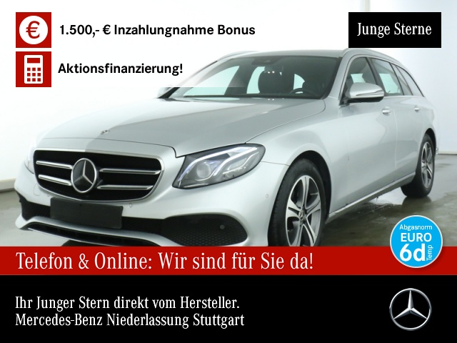 Mercedes-Benz E 220 d T Avantgarde Distr.Multi.SpiegelP.Totw., Jahr 2019, Diesel