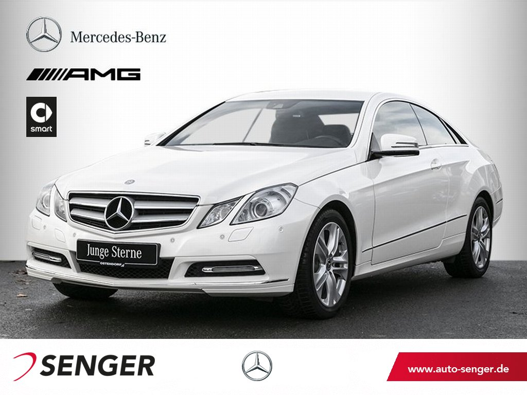 Mercedes-Benz E 200 Coupé*Parktronic*Navi*Bi-Xenon*CD-Wechsler, Jahr 2013, Benzin