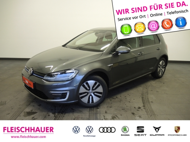Volkswagen Golf VII e-Golf NAVI BAFA Förderung möglich, Jahr 2019, Elektro