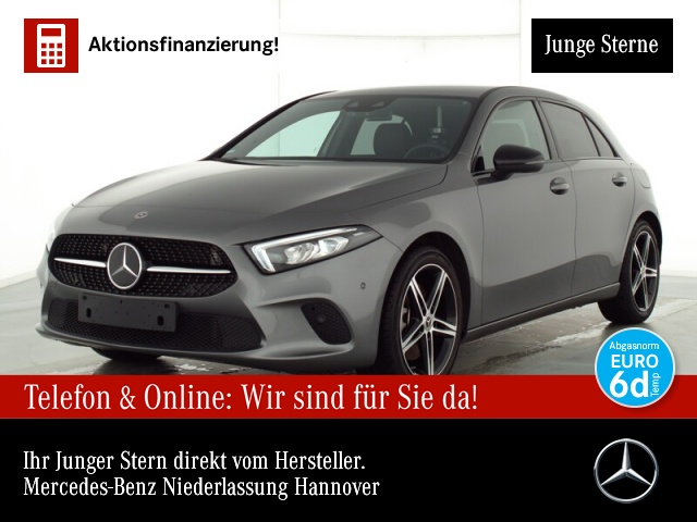 Mercedes-Benz A 250 4M Navi Premium Distr. LED Night Klimaautom, Jahr 2019, Benzin