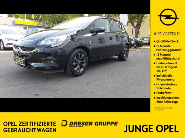 Opel Corsa E 120 Jahre 1.4 S/S KLIMA/SHZ/LHZ/PDC v+h/ALLWETTER/WSS BEHEIZBAR/INTELLILINK, Jahr 2019, Benzin