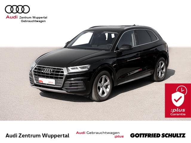 Audi Q5 35TDI R-KAM AHK VOB PANO LEDER DAB LED NAV SHZ 18 Sport, Jahr 2020, Diesel