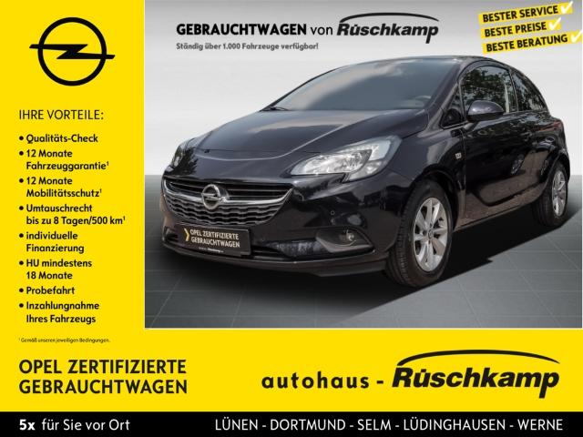 Opel Corsa ON Rückfahrkam. LED-Tagfahrlicht Beheizb. Frontsch. Multif.Lenkrad RDC Klima, Jahr 2017, Benzin