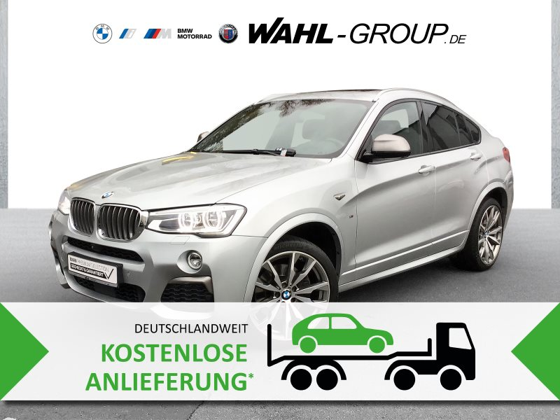 BMW X4 M40i M Sportpaket Head-Up HK HiFi DAB LED, Jahr 2017, Benzin