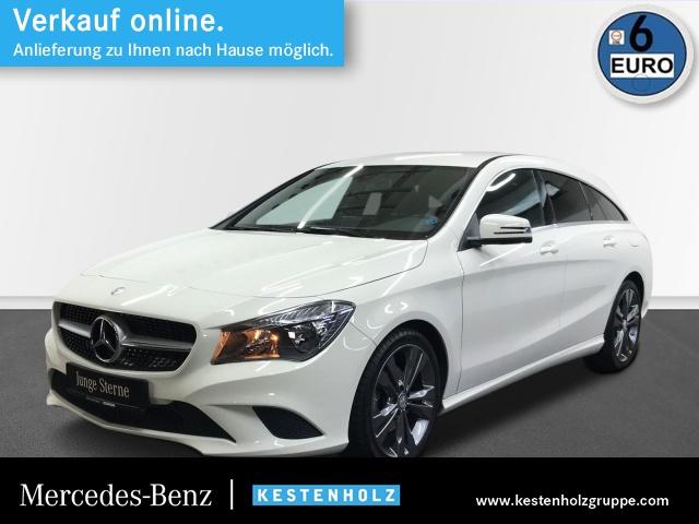 Mercedes-Benz CLA 200 SB Urban+AHK+Kamera+Sitzkomfort+Chromp, Jahr 2016, Benzin