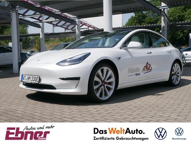 Tesla Model 3 PERFORMANCE 1099EUR/MONAT,ERW.AUTOPILOT,, Jahr 2019, Elektro