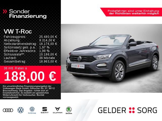 Volkswagen T-ROC Cabrio 1.0 TSI Style *ACC*App-Connect*, Jahr 2020, Benzin