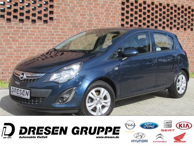 Opel Corsa D Energy 1.2 5 Türer 86 PS,KLIMA,TEMPOMAT,ZV,E-FENSTER,ALUFELGEN, Jahr 2014, Benzin
